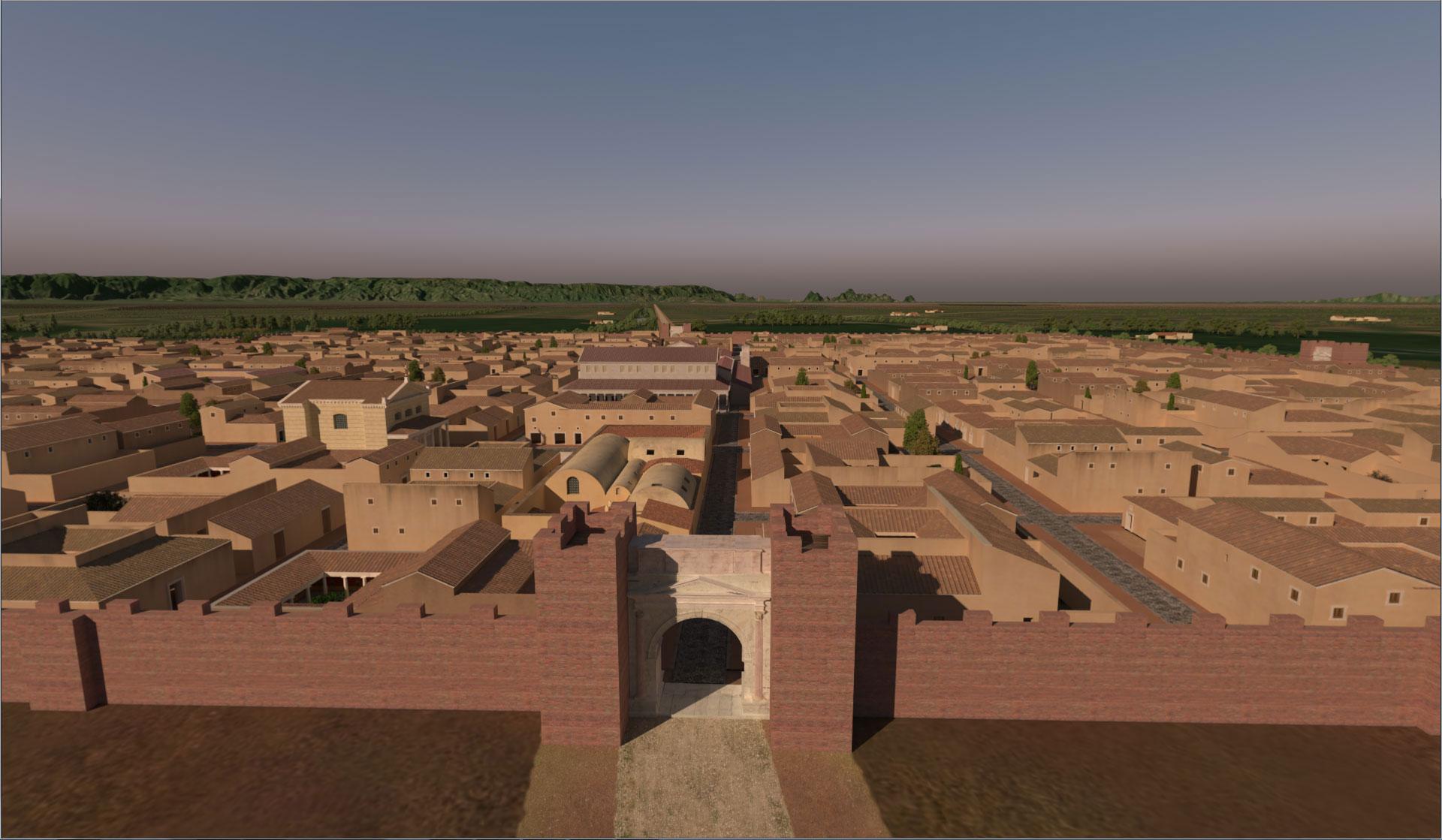 roma antiqua grandi edifici pubblici